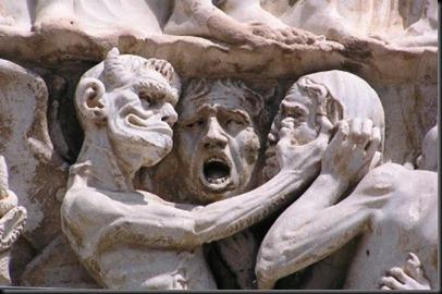 El demonio y Judas Iscariote