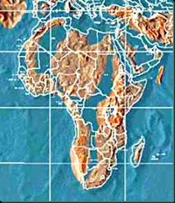 mapa africa 2012