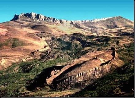 Arca en el Monte Ararat