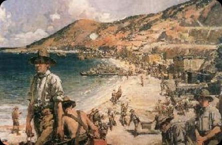 TheBeachatAnzacFrankCrozier1919