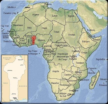 Mapa-de-Africa-Benín